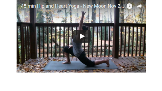Hip and Heart Yoga Flow