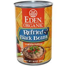 Eden bran refined beans