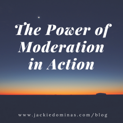 Power of Moderation