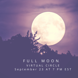 FULL MOON WOMEN'S CIRCLE September 23 Blank